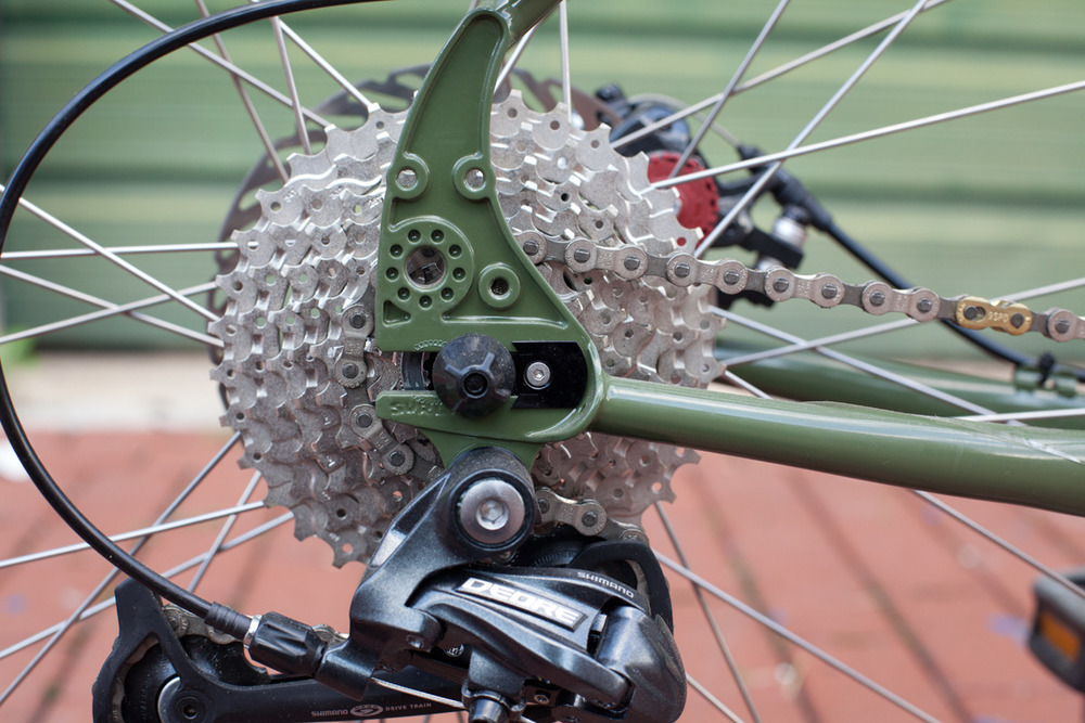Rack, fenders, singlespeed, internal geared hubs, do whatever you please with these dropouts