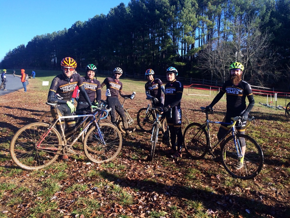 Our shop team, Adventuretimes,   at Capital Cross Classic. Kevin, Miguel, Michael, Coman, Wilson and Tony.