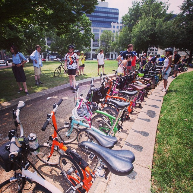 Brompton Urban Challenge at Mt. Vernon Square