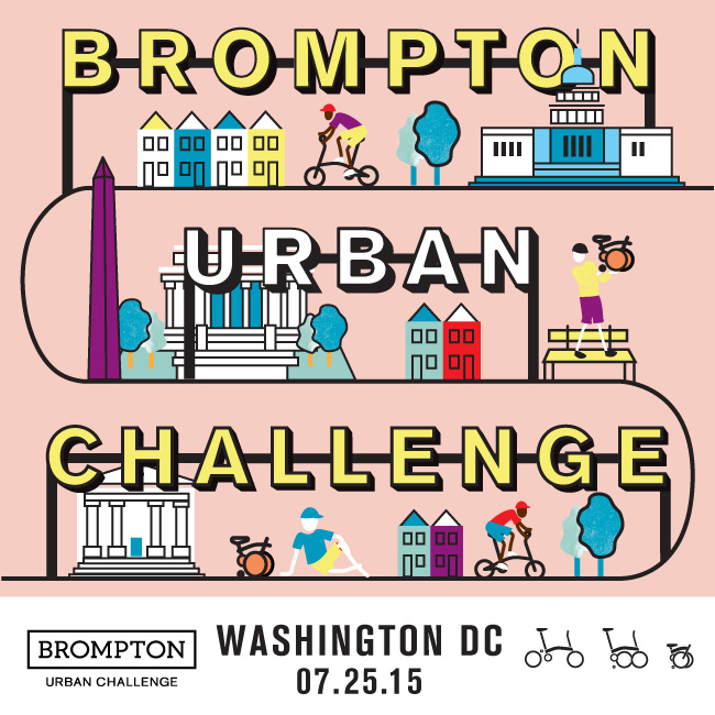 The Brompton Urban Challenge is a two-wheeled scavenger hunt. Your team will put your heads together to decode the clues, then saddle up and discover the answers at checkpoints around the city. All bikes welcome, your team must include one Brompton.