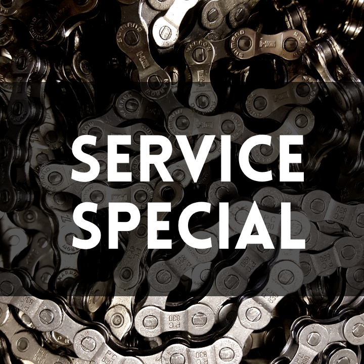 Service Special going on now, too! Save on overhaul and tuneup packages by DC's favorite bike shop!