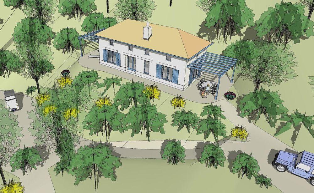 New House, Afelianes, Greece