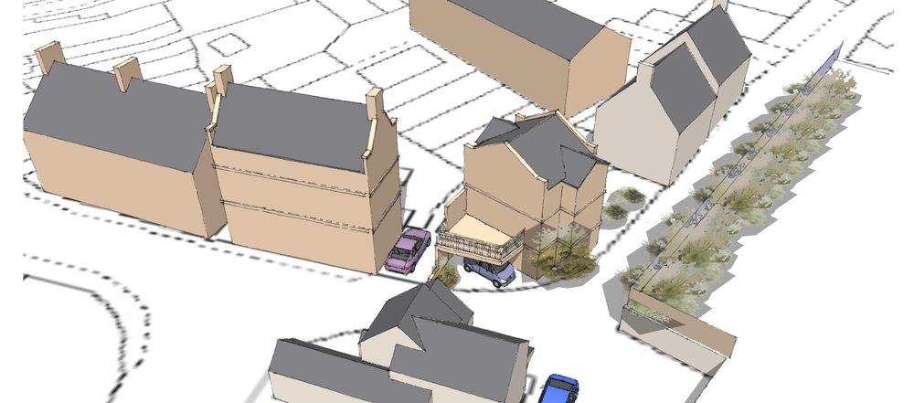 Feasibility Scheme for a Mews House in Duffield, Derbyshire