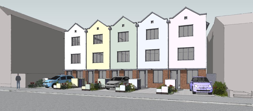 Five New Houses, Willn Street, Derby