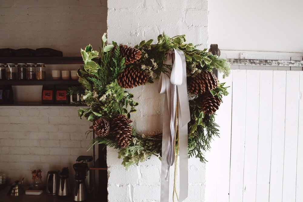 Classic Contemporary Wreath from $100
