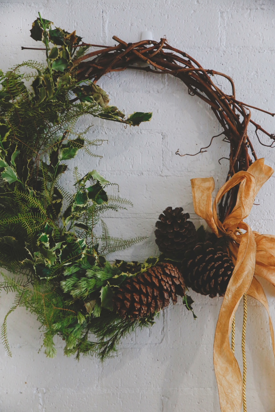 Wild & Structural Wreath from $65