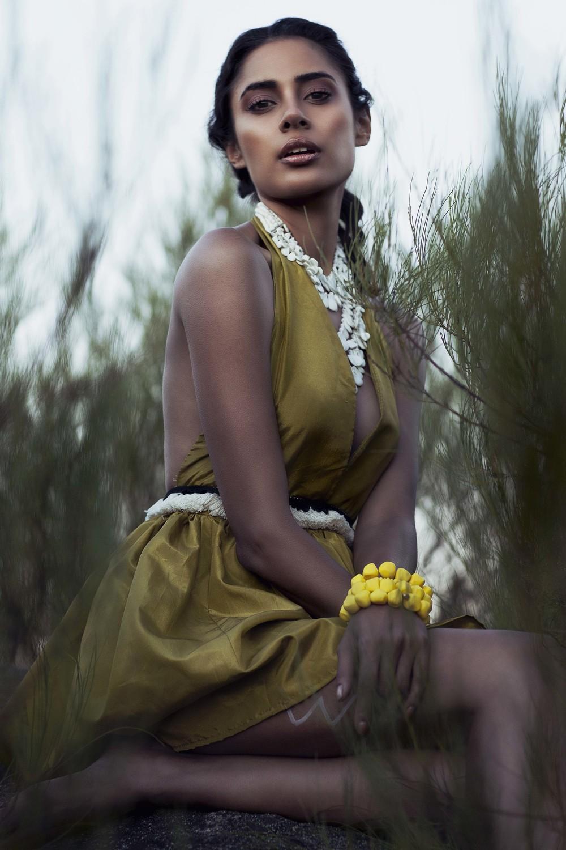 Photographer: Tijana Lilic Stylist: Elle Giles Hair & Makeup: Robert McPhilomey Model: Fiona Seneviratne at Chadwicks