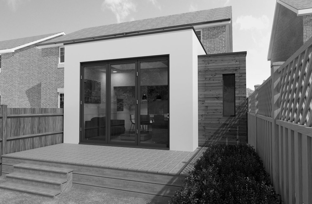 Contemporary extension Sheffield Architects