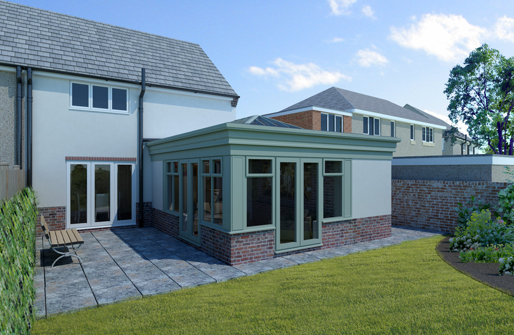Orangery extension in Chesterfield