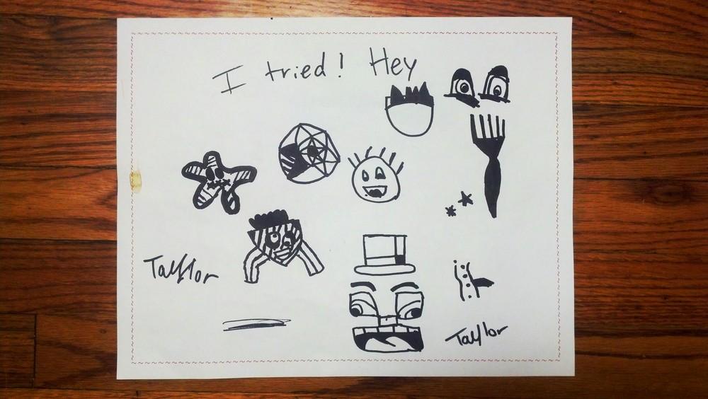 Taylor's Doodle