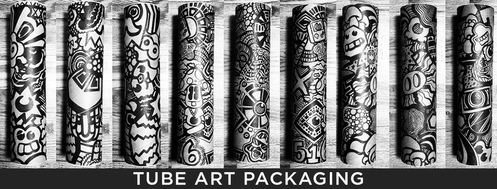 ALBOE Tube Art Packaging