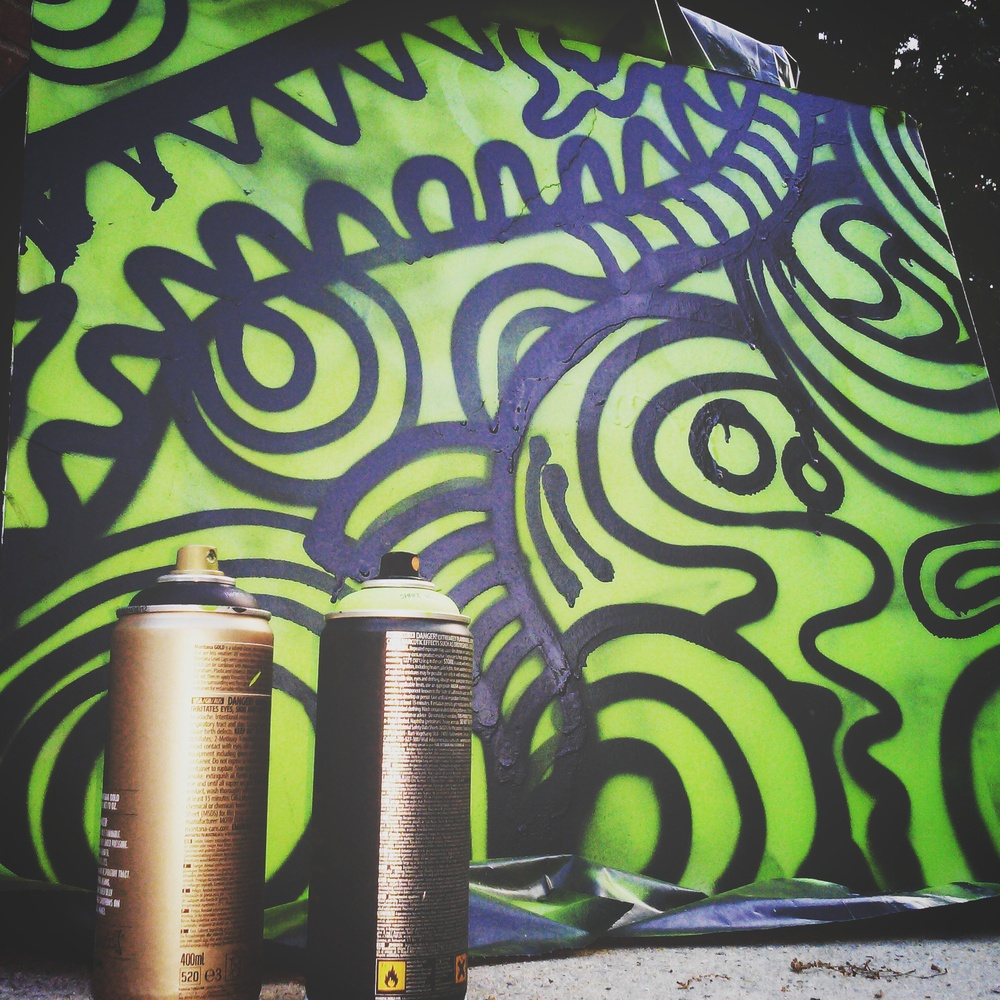 ALBOE – First Can of Spray Paint