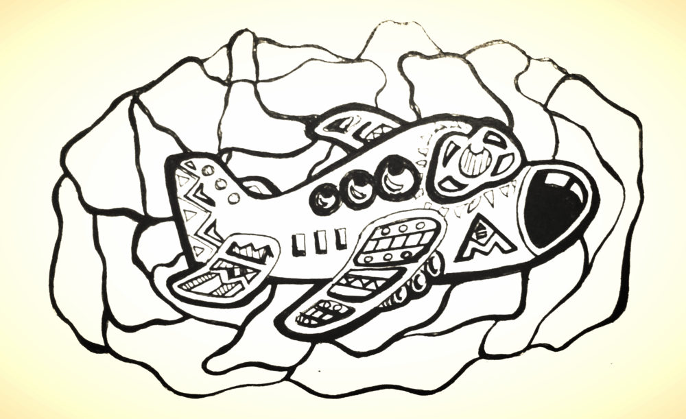 Airplane Doodle – ALBOE