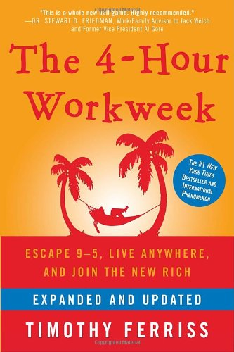 "<a href=""http://amzn.to/1gXVSgp"">The 4-Hour Workweek<strong>A classic on productivity, outsourcing, and efficiency. Valuable whether you want to live a '4-hour' lifestyle or not.</strong></a>"