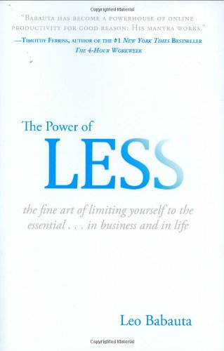 "<a href=""http://amzn.to/1WFxDEu"">The Power of Less<strong>The stuff we own can own us. Simplify your life to the essential.</strong></a>"