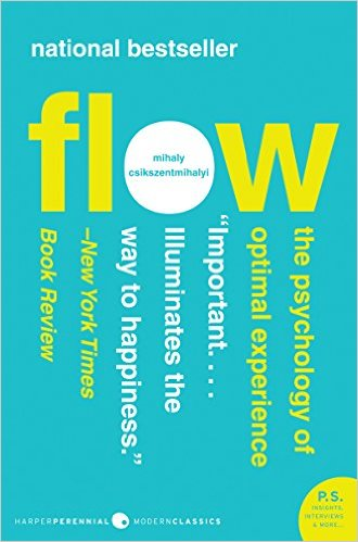 "<a href=""http://amzn.to/1KwwvKm"">Flow<strong>Whether in sport or in work, we all seek the focused but easeful mental state of Flow. Learn how to inhabit that state more regularly.</strong></a>"