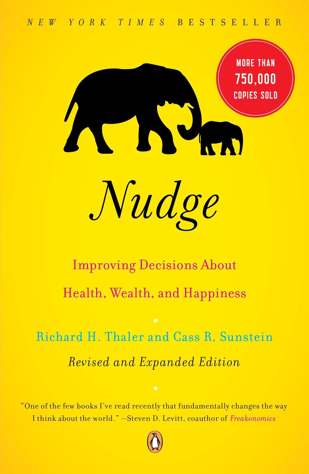 "<a href=""http://amzn.to/1MzKa7Z"">Nudge<strong>We're ruled by our unconscious, irrational cognitive biases. Identifying them is a first step in nudging our behavior the right direction.</strong></a>"