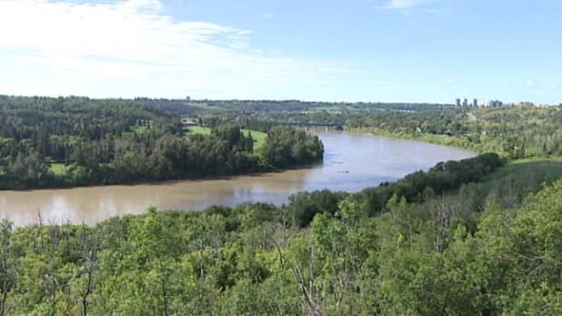 North Saskatchewan River, photo source:http://www.cbc.ca/
