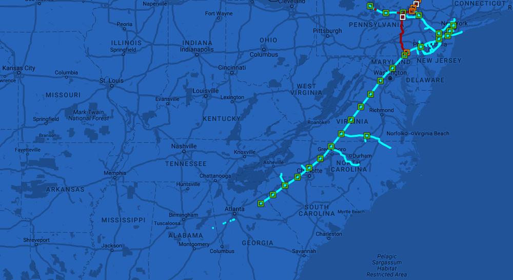 Proposed Atlantic Sunrise Project Route  ( Williams )