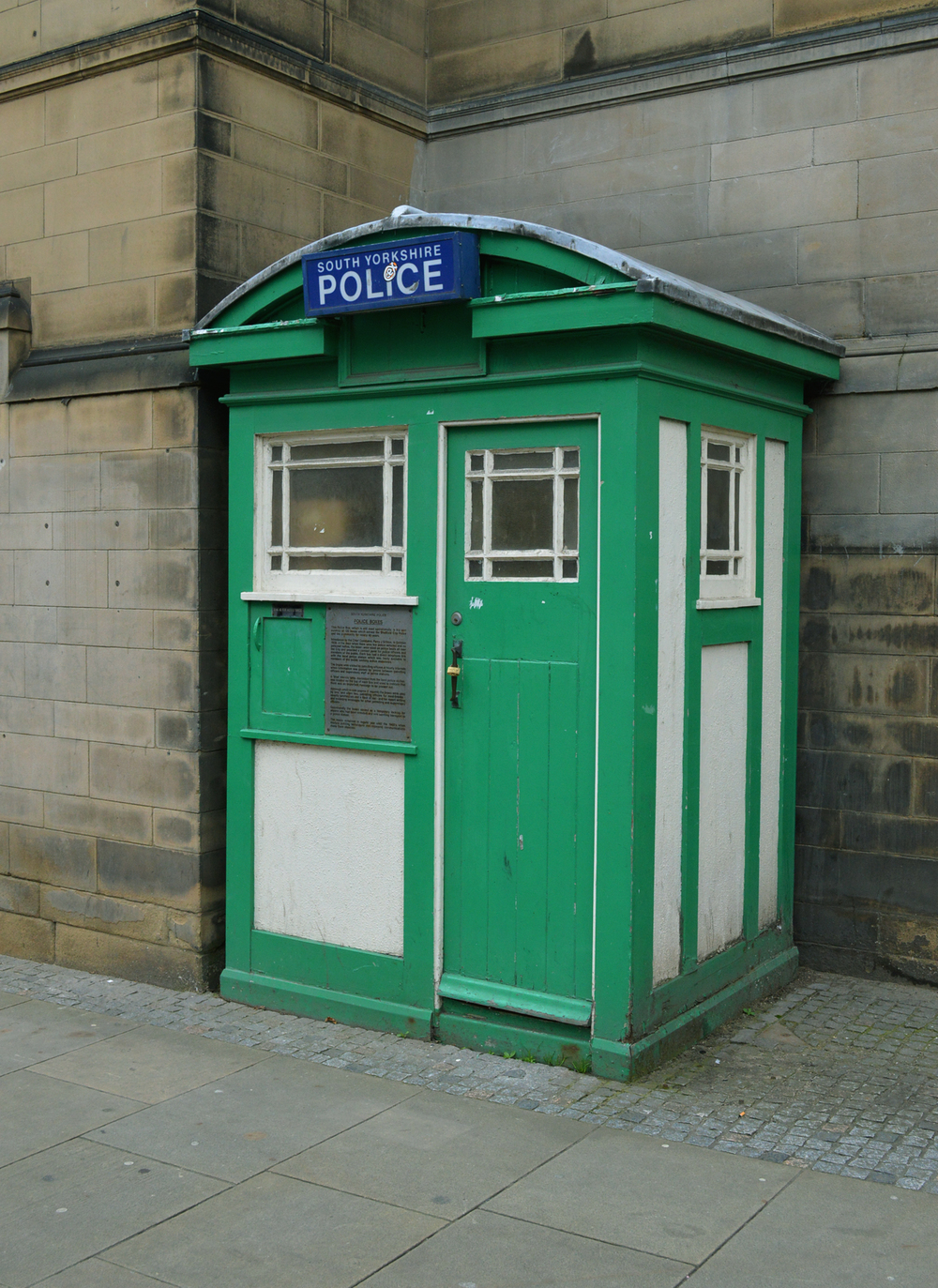 Sheffield's Green Tardis. I don't know why more people don't know about this.