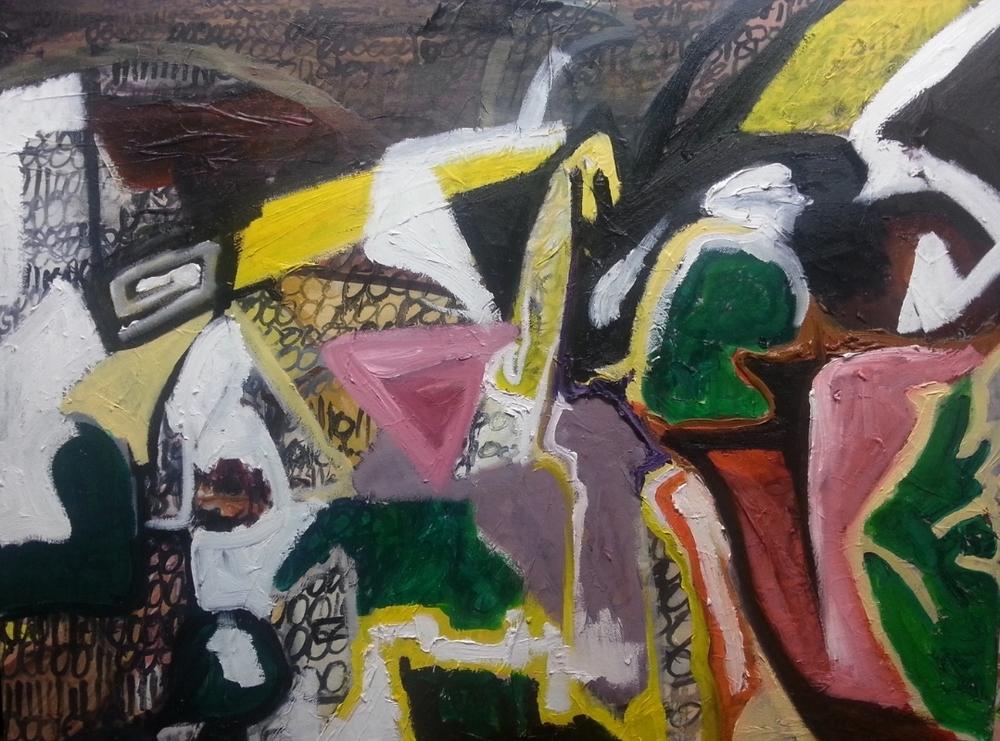 Piranesi's frustrated pier. 80cm x 60cm, oil on canvas (WIP)