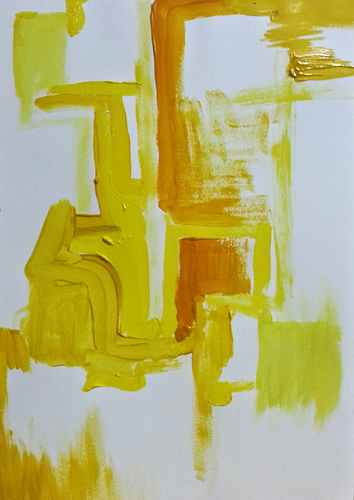 Three Colours Yellow - by Cathal Lindsay