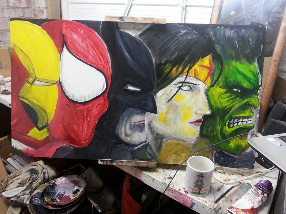 Superhero O