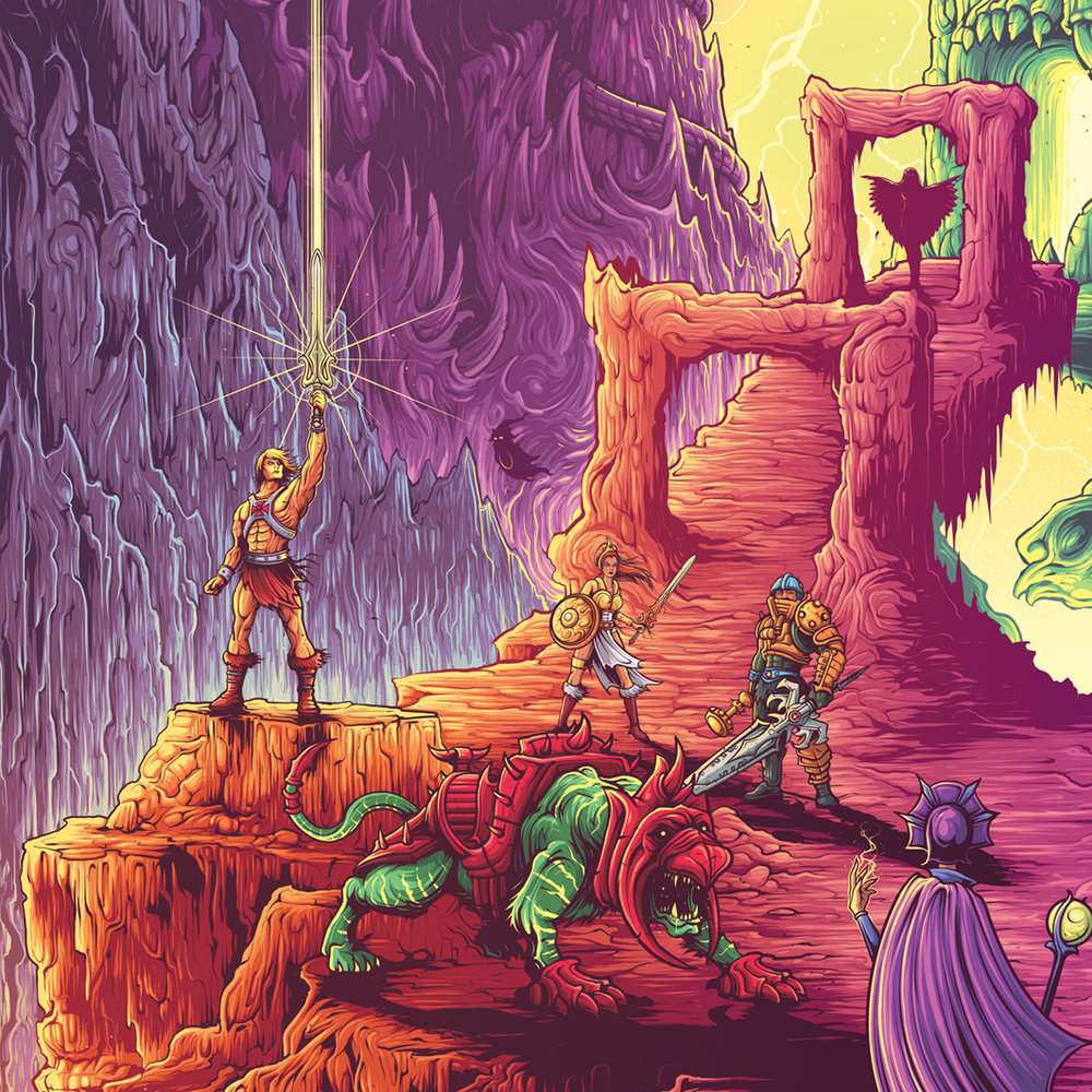 the power of grayskull masters of the universe