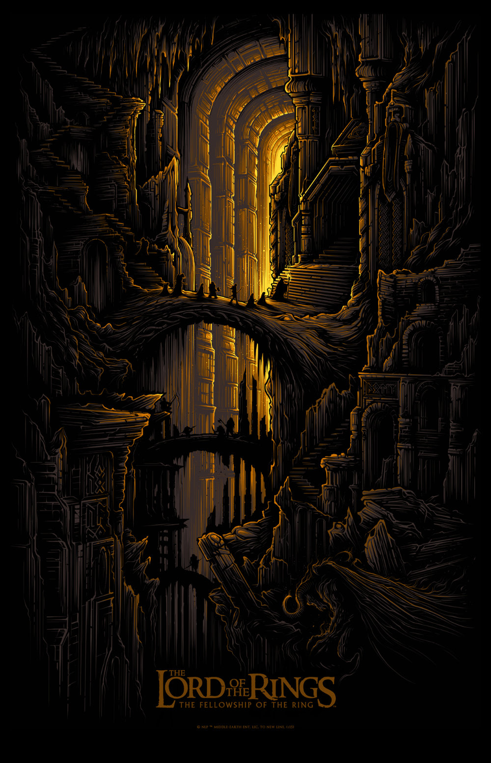 the lord of the rings trilogy dan mumford