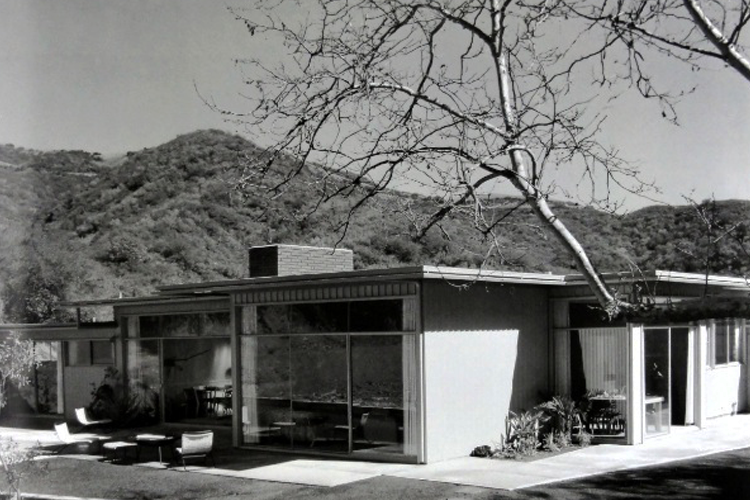 The Case Study House #3 by William W. Wurster and Theodore Bernardi