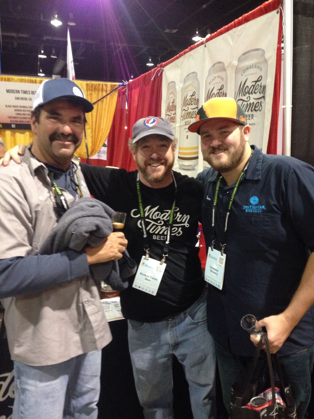 Bill, Dustin, and Brendan from Modern Times