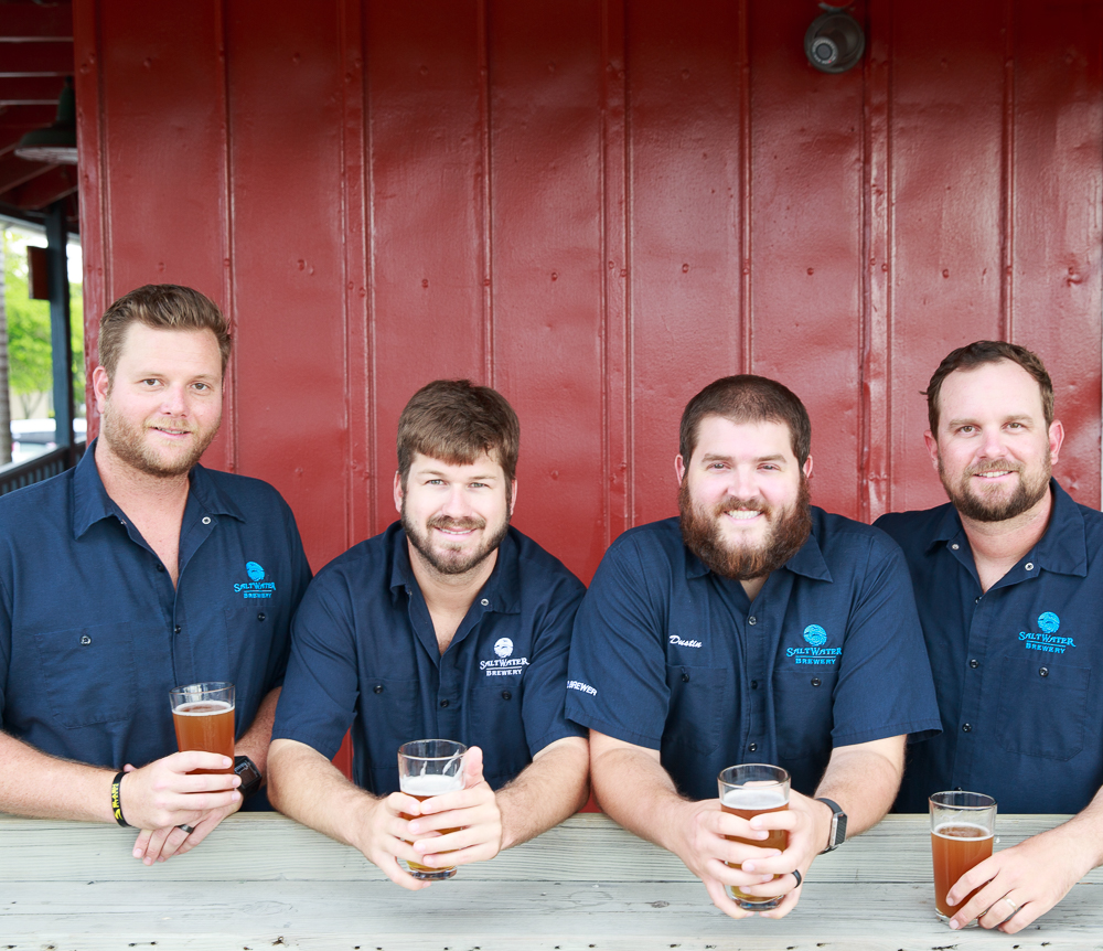 The Founders (from left to right): Bo Eaton, Head of Sales; Chris Gove, President; Dustin Jeffers, Head of Operations; Peter Agardy, Head of Brand
