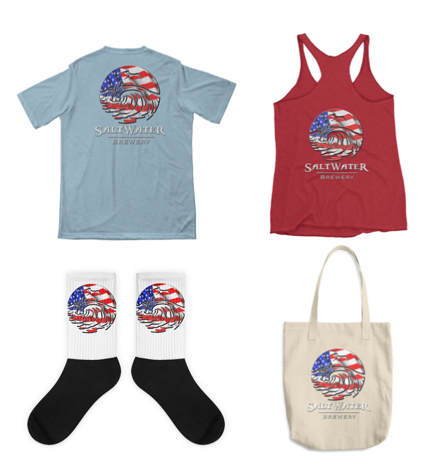 Check out our brand new ONLINE STORE! Get in the American summer spirit with our USA Logo shirts, socks and totes!