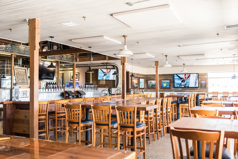 Lifestyle photography by Coco Prop Shop of Saltwater Brewry in Delray Beach, FL.