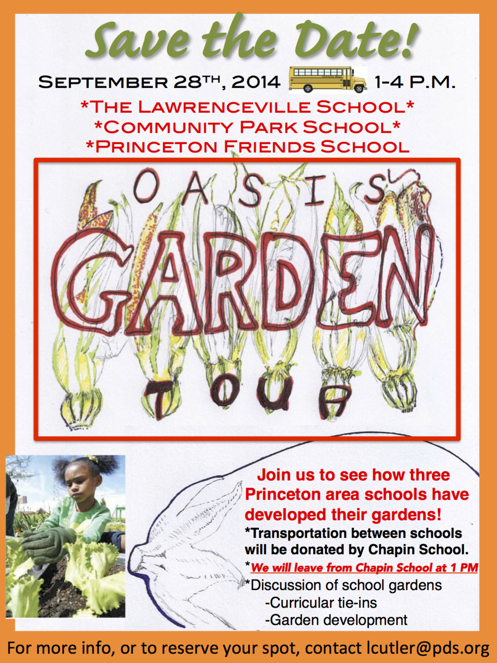 OASIS SCHOOL GARDEN TOUR 2014-2