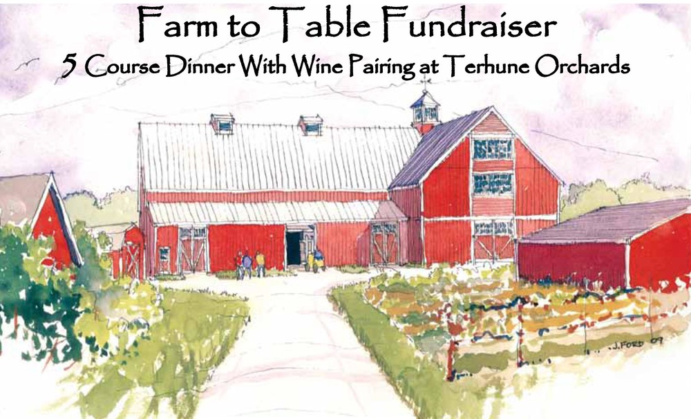 Farm to Table Fun(d)Raiser  Thursday, July 21st at 5 p.m.   Terhune Orchards   330 Cold Soil Rd. Princeton, NJ 08540