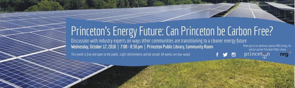 Can Princeton Be Carbon Free?