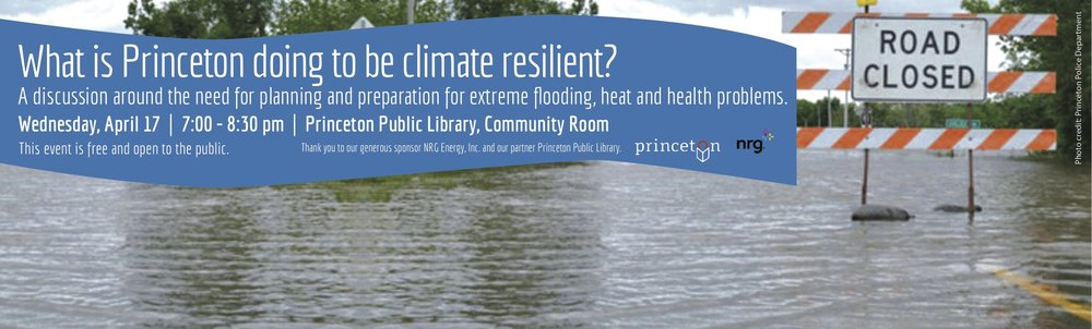 What is Princeton doing to be more resilient?