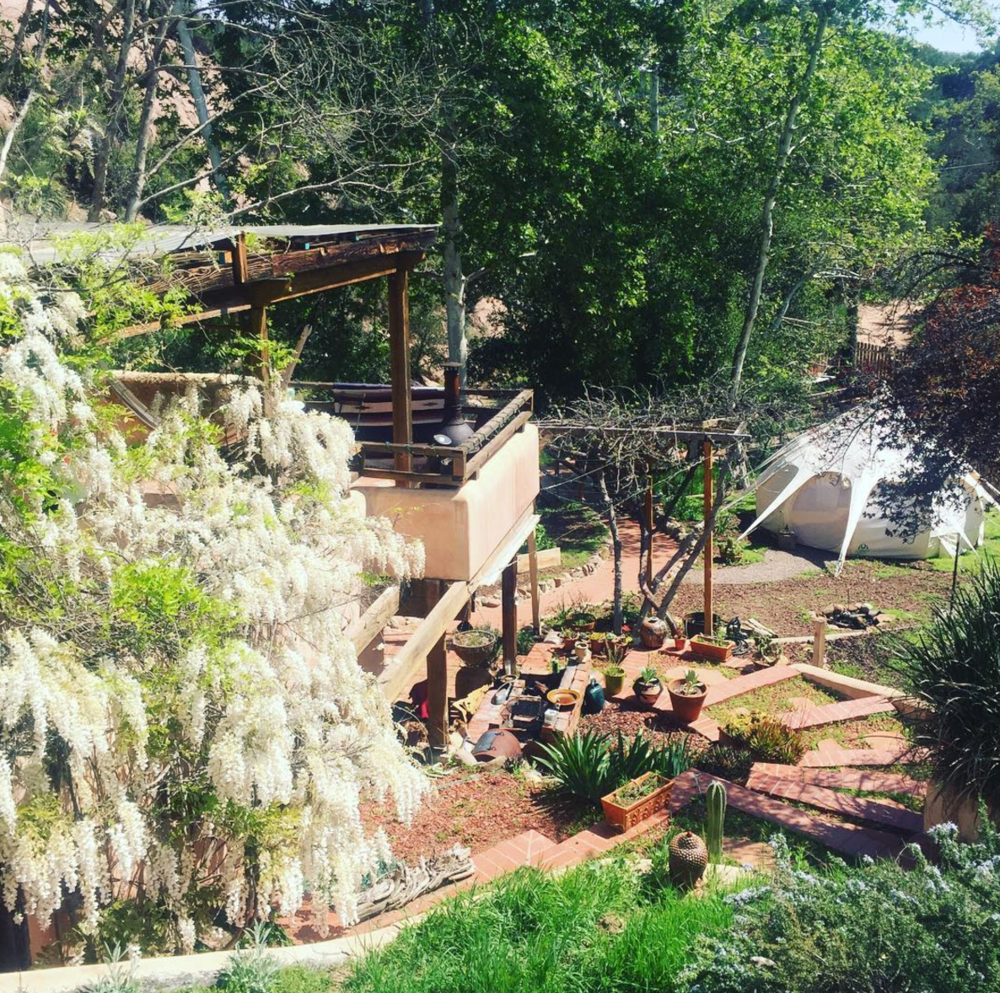 Colleen's home/office @redrockretreat in Red Rock Topanga