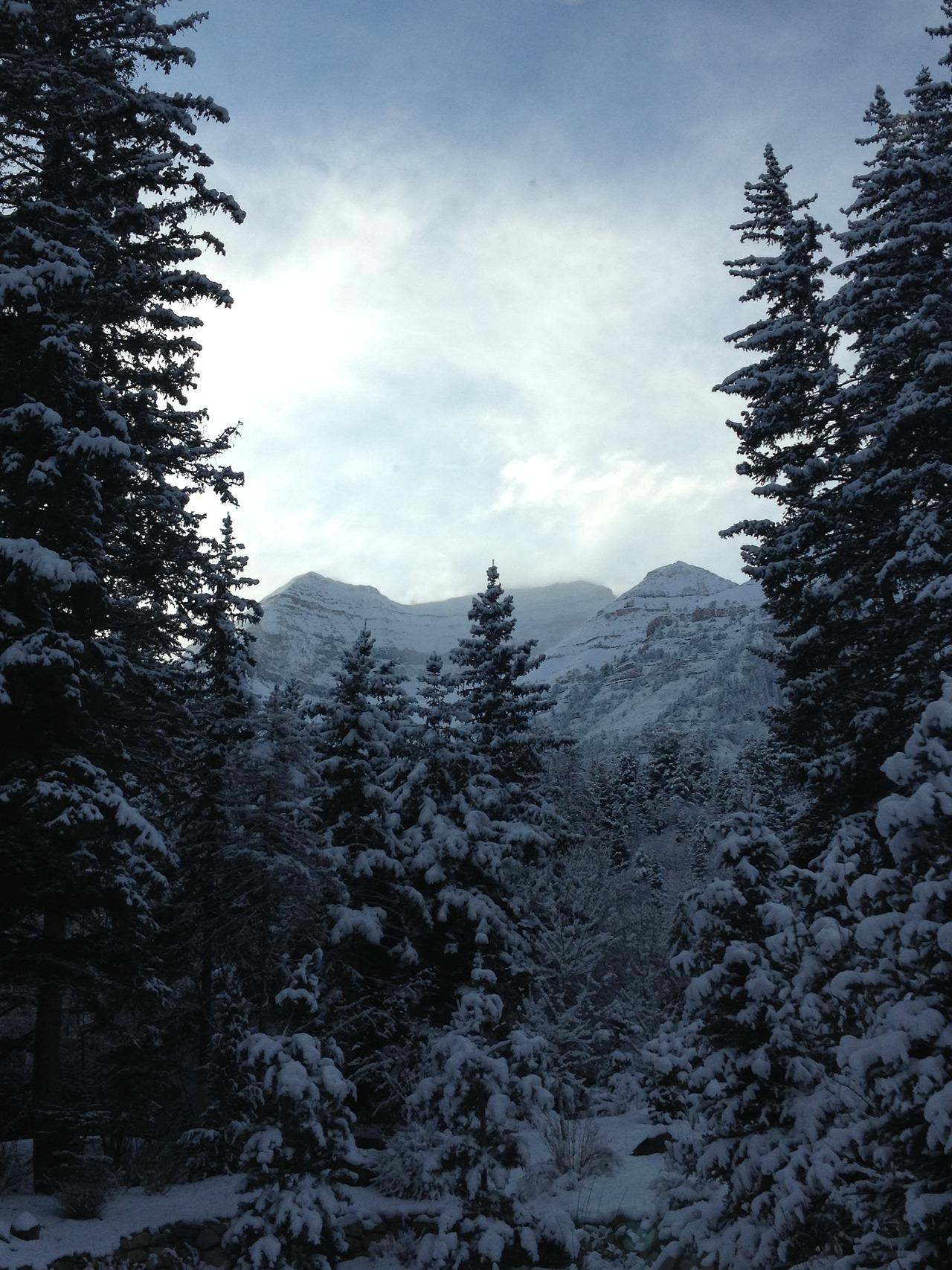 In Utah for meetings + a wedding; reminded how spectacular winter can be (to visit).