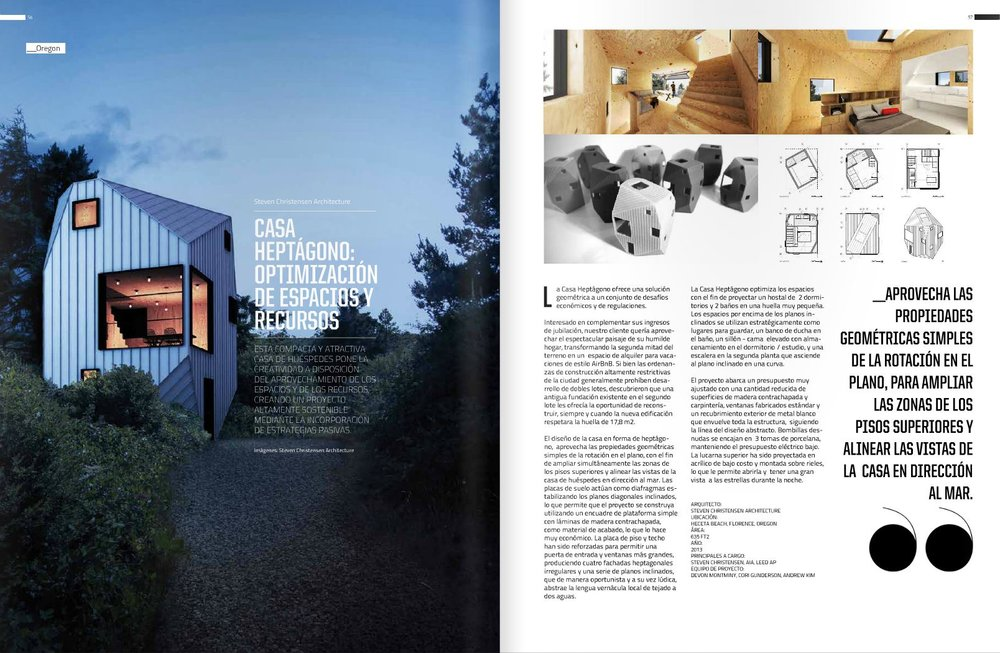 Just Happened Upon This Article About Heptagon House In The Chilean Architecture  Magazine D+A: Diseño Y Arquitectura. The Project Was Featured In Their ...