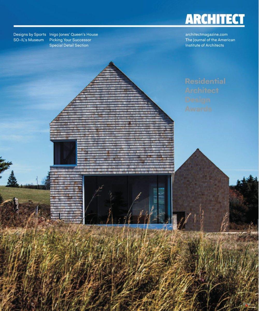 Emigration House In December Issue Of Architect Magazine U2014 Steven  Christensen Architecture