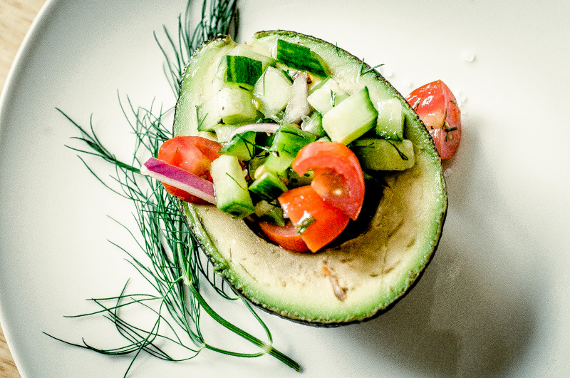 avocado shepherd's salad