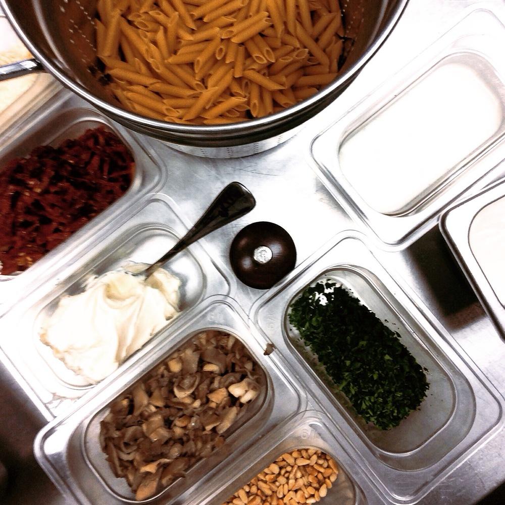 culinary school mise en place