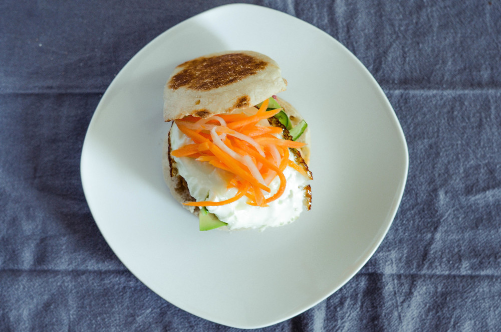 banh mi breakfast sandwich