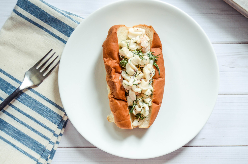 fennel + dill seafood roll