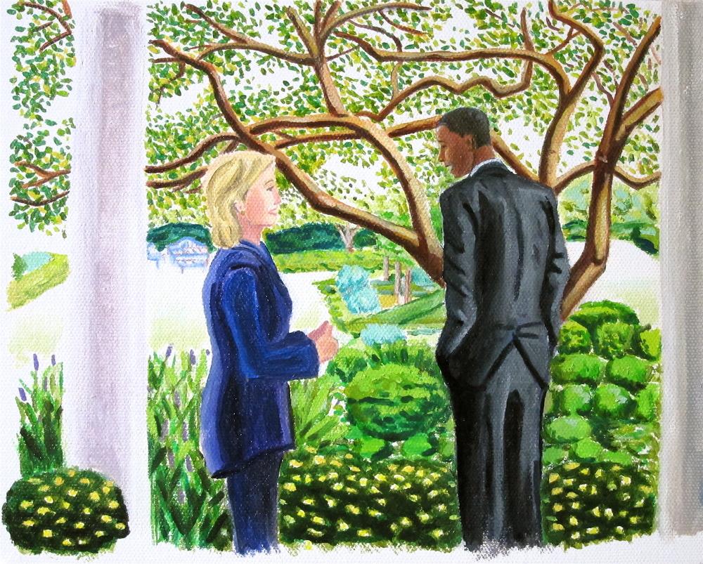 Hilary & Barack