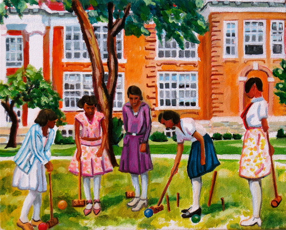 Croquet at Bordentown