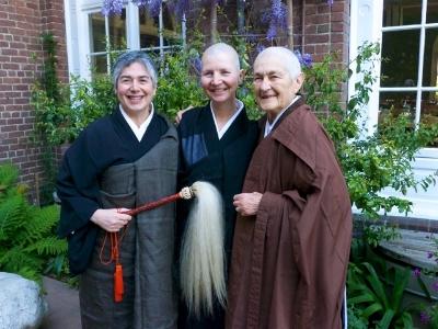 March 2012 - Shosan Vicki Austin, Konin Cardenas, Zenkei Blanche Hartman