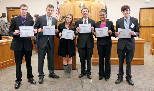 2013 CBA High School Mock Trial Program - Outstanding Attorneys